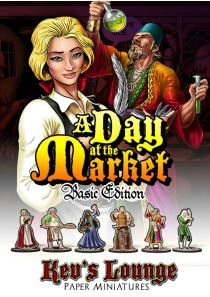 Paper Miniatures - A Day at the Market(Basic Edition) Thumb