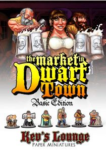 Paper Miniatures - A Day at the Market (Basic Edition) Cover