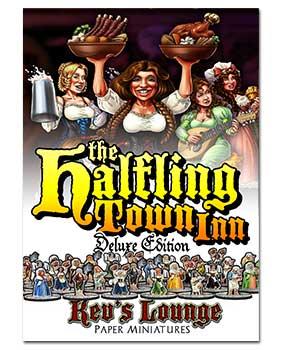 Paper Minis - Halfling Town Inn Deluxe Cover