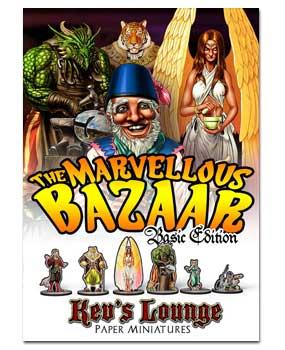 Paper Minis - Marvellous Bazaar Basic Cover
