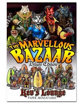Paper Minis - Marvellous Bazaar Deluxe Cover